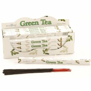 Stamford Incense - Square Pack (8 Sticks) - Green Tea